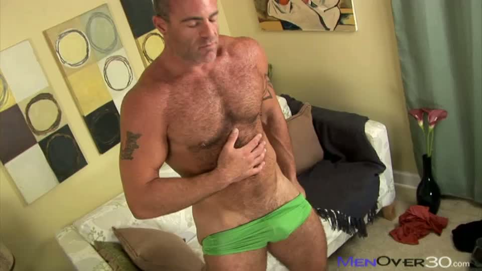 He Unclothes When Trace Starts Tugging His Dick